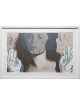 KAWS Kate Moss White Gloves