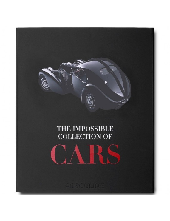IMPOSSIBLE COLLECTION OF CARS BOOK (BLACK / HARDCOVER)