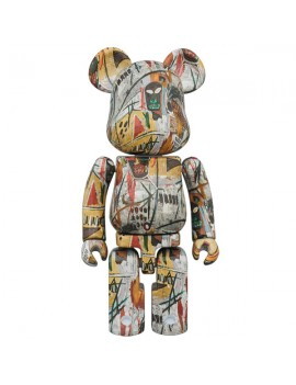 Super alloyed BE@RBRICK JEAN-MICHEL BASQUIAT 200%