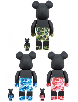 BE@RBRICK BAPE® MICKEY MOUSE 100% & 400% SET