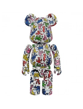 Super alloyed BE@RBRICK KEITH HARING 200%