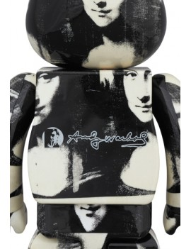 BE@RBRICK 1000%  ANDY WARHOL DOUBLE MONA LISA