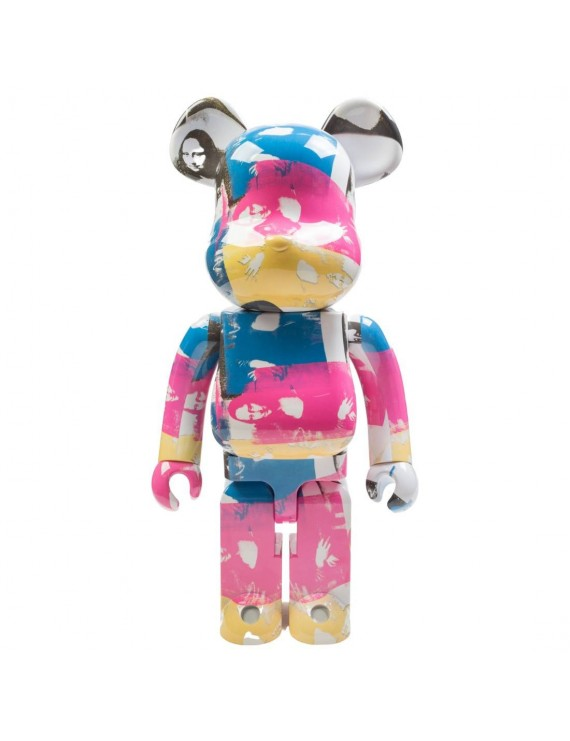 ANDY WARHOL COLORED DOUBLE MONA LISA 1000% BEARBRICK DESIGNERCON EXCLUSIVE (MULTI)