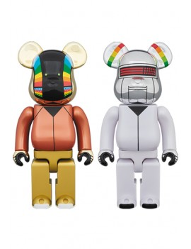 BE@RBRICK DAFT PUNK (DISCOVERY Ver.) 2 PACK 400%